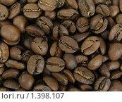 Зерна кофе. Стоковое фото, фотограф Гузынин Тимофей / Фотобанк Лори