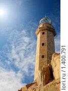 Купить «Галисия (Испания): маяк Кабо Вилан на Атлантическом океане», фото № 1400791, снято 20 сентября 2009 г. (c) Дмитрий Яковлев / Фотобанк Лори