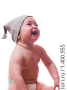 Купить «Эмоции маленького ребенка», фото № 1400955, снято 21 января 2010 г. (c) Иванова Виктория / Фотобанк Лори
