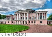 Купить «Дворец графа Шереметева. Останкино. Москва», эксклюзивное фото № 1402315, снято 18 мая 2009 г. (c) lana1501 / Фотобанк Лори