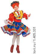Купить «Танец русской матрёшки», фото № 1405331, снято 14 января 2010 г. (c) Федор Королевский / Фотобанк Лори