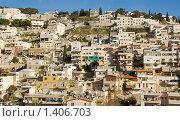 Купить «Израиль. Иерусалим. Панорама современной части города», фото № 1406703, снято 17 января 2010 г. (c) Светлана Силецкая / Фотобанк Лори