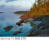 Купить «Вечер на Ладожском озере», фото № 1408379, снято 4 сентября 2018 г. (c) Михаил Марковский / Фотобанк Лори