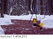 Детская площадка. Стоковое фото, фотограф Кирилл Пирязев / Фотобанк Лори