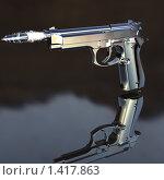 Купить «Полет пули», иллюстрация № 1417863 (c) Alperium / Фотобанк Лори