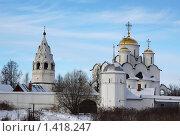 Покровский женский монастырь в Суздале зимой. Стоковое фото, фотограф Инна Додица / Фотобанк Лори