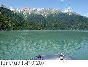 Озеро Рица. Стоковое фото, фотограф Кайсина Юлия / Фотобанк Лори
