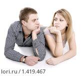 Купить «Ссора и примирение», фото № 1419467, снято 21 января 2010 г. (c) Татьяна Гришина / Фотобанк Лори