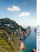 Купить «Остров Капри, Италия», фото № 1428575, снято 7 октября 2009 г. (c) vale_t / Фотобанк Лори