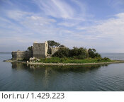 Крепость на острове (2008 год). Стоковое фото, фотограф Александр Справников / Фотобанк Лори