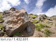 Купить «Развалы каменных глыб в горах Кавказа», фото № 1432691, снято 8 августа 2009 г. (c) Воу-воу-воу пам-па-рам / Фотобанк Лори