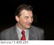 Купить «Владислав Третьяк. Депутат государственной Думы.», фото № 1435231, снято 5 октября 2007 г. (c) Александр Легкий / Фотобанк Лори