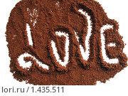Кофе с любовью. Стоковое фото, фотограф Natalisha / Фотобанк Лори