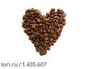 Кофейное сердце. Стоковое фото, фотограф Natalisha / Фотобанк Лори