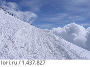 На склонах Эльбруса (2007 год). Редакционное фото, фотограф Валерий Шевяков / Фотобанк Лори