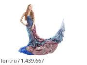 Элегантная девушка в роскошном платье. Стоковое фото, фотограф Евгений Гультяев / Фотобанк Лори