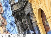 Купить «Пражские дома», фото № 1440455, снято 29 марта 2009 г. (c) Бельская (Ненько) Анастасия / Фотобанк Лори
