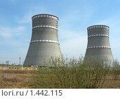 Купить «Градирни на Калининской АЭС (Удомля)», фото № 1442115, снято 29 апреля 2009 г. (c) Татьяна Юни / Фотобанк Лори