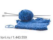 Купить «Вязание», фото № 1443559, снято 26 января 2010 г. (c) Андрей Лавренов / Фотобанк Лори
