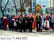 Купить «Крестный ход», фото № 1444855, снято 25 апреля 2006 г. (c) Владимир Фаевцов / Фотобанк Лори