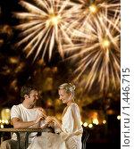 Купить «Влюбленная пара на свидании», фото № 1446715, снято 3 июня 2020 г. (c) Andrejs Pidjass / Фотобанк Лори