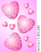Сердечки. Стоковая иллюстрация, иллюстратор Светлана Арешкина / Фотобанк Лори