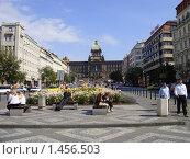 Прага - Площадь, Музей (2008 год). Редакционное фото, фотограф Сергей Романюк / Фотобанк Лори