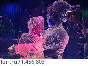 Купить «Иван-царевич и Василиса Прекрасная. Ледяная скульптура», эксклюзивное фото № 1456803, снято 7 февраля 2010 г. (c) ФЕДЛОГ / Фотобанк Лори