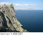 Крым,поселок Новый свет, Гора Коба-Кая (2008 год). Стоковое фото, фотограф Андрей Спирин / Фотобанк Лори