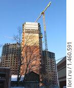 Строительство нового дома, город Балашиха (2010 год). Стоковое фото, фотограф Андрей Спирин / Фотобанк Лори