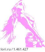Девушка идет. Стоковая иллюстрация, иллюстратор Светлана Арешкина / Фотобанк Лори