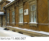 Купить «Рязань, дом Загоскина Л.А.», фото № 1466067, снято 17 января 2010 г. (c) УНА / Фотобанк Лори