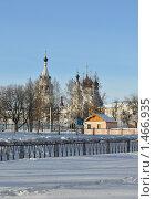 Купить «Свято-Троицкий монастырь. XVII век. Муром», фото № 1466935, снято 11 февраля 2010 г. (c) Горская Анна / Фотобанк Лори