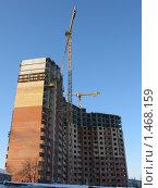 Строительство нового дома в  Балашихе (2010 год). Редакционное фото, фотограф Андрей Спирин / Фотобанк Лори