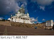 Хельсинки. Сенатская площадь (2009 год). Стоковое фото, фотограф Katerina Uno / Фотобанк Лори