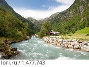 Купить «Норвежский пейзаж», фото № 1477743, снято 14 августа 2009 г. (c) Виталий Романович / Фотобанк Лори