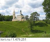 Купить «Тутаев. Троицкая церковь», фото № 1479251, снято 12 июня 2007 г. (c) Елена Беклемищева / Фотобанк Лори