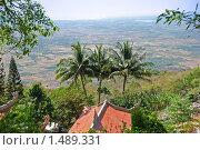 Купить «Вид с горы. Вьетнам.», фото № 1489331, снято 7 января 2010 г. (c) Лифанцева Елена / Фотобанк Лори