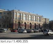 Купить «Кемеровский политехнический университет», фото № 1490355, снято 3 февраля 2010 г. (c) Константин Челомбитко / Фотобанк Лори
