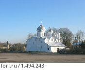 Купить «Ивановской собор в Пскове», фото № 1494243, снято 1 ноября 2009 г. (c) Валентина Троль / Фотобанк Лори