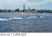 Купить «Чемпионат мира по водно-моторному спорту «Формула-1» на реке Неве. Санкт-Петербург, август, 2009», фото № 1494623, снято 9 августа 2009 г. (c) Куликов Константин / Фотобанк Лори