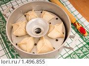 Купить «Манты — азиатское блюдо.Паровые пирожки с начинкой. Манты-каскан.», фото № 1496855, снято 21 февраля 2010 г. (c) Федор Королевский / Фотобанк Лори