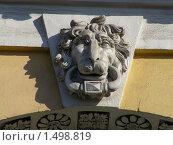 Москва. Фрагмент здания на Верхней Радищевской улице (2010 год). Стоковое фото, фотограф lana1501 / Фотобанк Лори