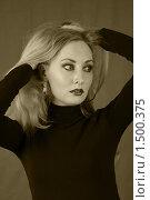 Портрет блондинки. Стоковое фото, фотограф Лукьянов Иван / Фотобанк Лори