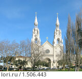 Купить «Собор Петра и Павла в Сан-Франциско», фото № 1506443, снято 4 февраля 2008 г. (c) Валентина Троль / Фотобанк Лори