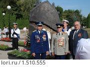 Купить «Герои - ветераны. г.Курск», фото № 1510555, снято 23 августа 2008 г. (c) Александр Леденев / Фотобанк Лори