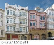 Купить «Викторианская архитектура Сан-Франциско», фото № 1512911, снято 7 марта 2009 г. (c) Валентина Троль / Фотобанк Лори