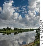 Купить «Небо и Днепр в окрестностях Могилева. Белоруссия», фото № 1520067, снято 27 июля 2008 г. (c) Виктор Пелих / Фотобанк Лори