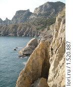 Купить «Скалы в Крыму (Новый Свет)», фото № 1520887, снято 22 ноября 2009 г. (c) Дмитрий Шепель / Фотобанк Лори
