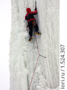 Ледолаз лезет по льду (2010 год). Редакционное фото, фотограф Елена Чердынцева / Фотобанк Лори